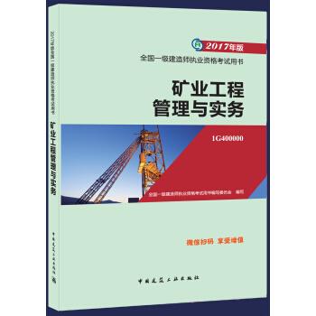 2017年版全国一级建造师执业资格考试用书 矿业工程管理与实务(含增值服务)